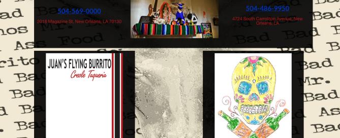 Juans-Flying-Burrito-Website-Development
