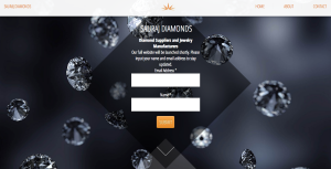 Sauraj Diamonds microsite